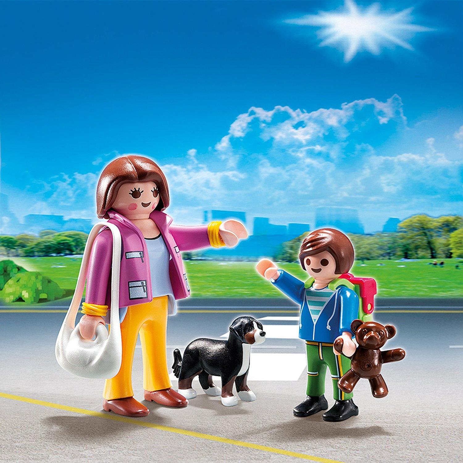 Playmobil City Life Mother Child Duo Figure Set1