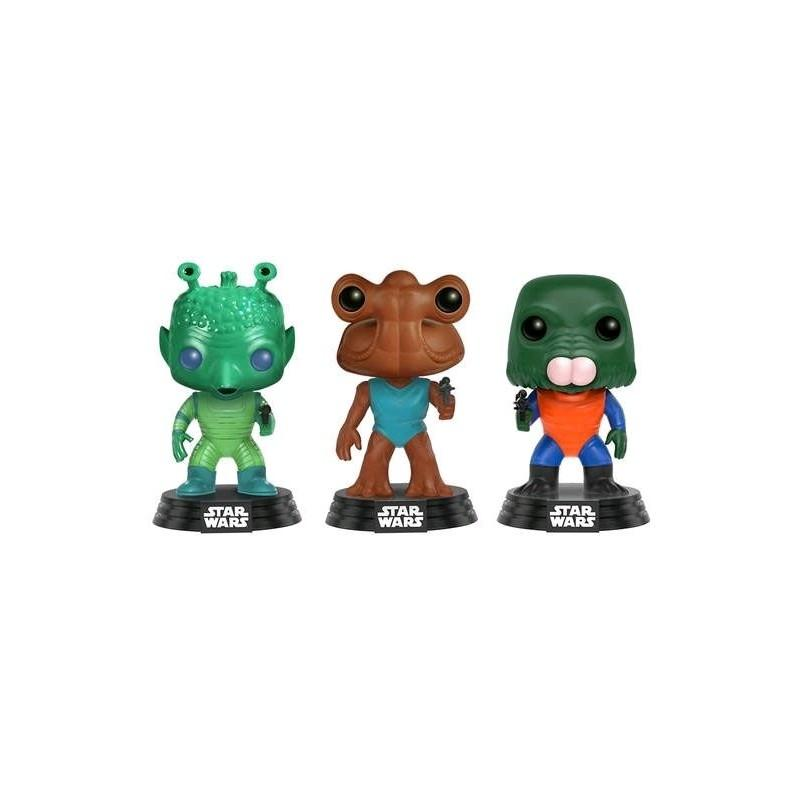 Pop! Vinyl Star Wars Cantina 3 Pack1