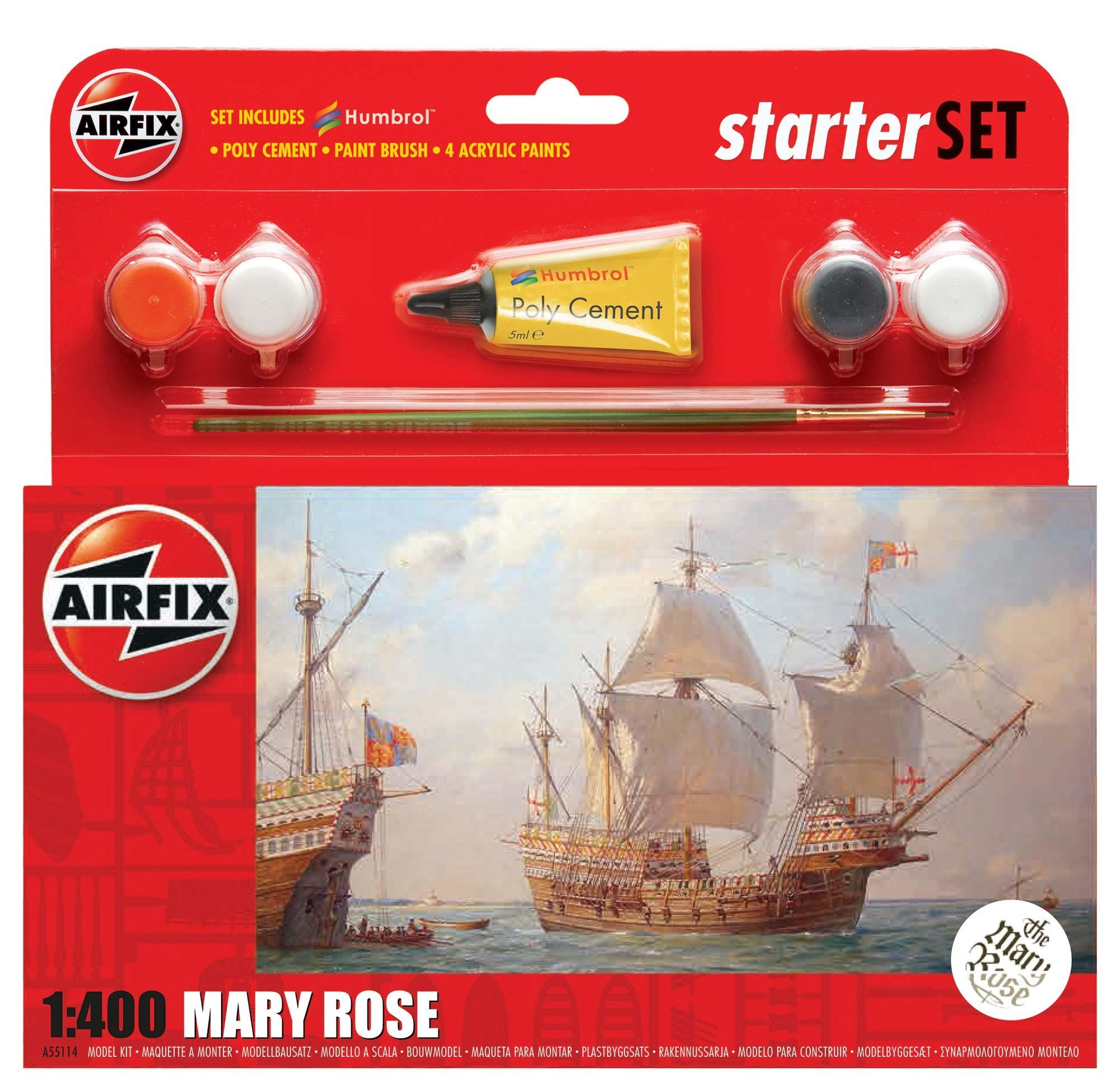 Airfix Starter Set Mary Rose1