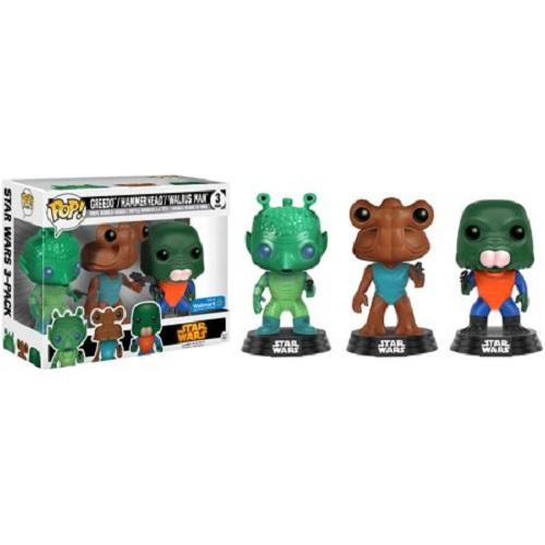 Pop! Vinyl Star Wars Cantina 3 Pack2