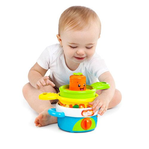 Bright Starts Giggling Gourmet Nest 'N' Sing Pots3