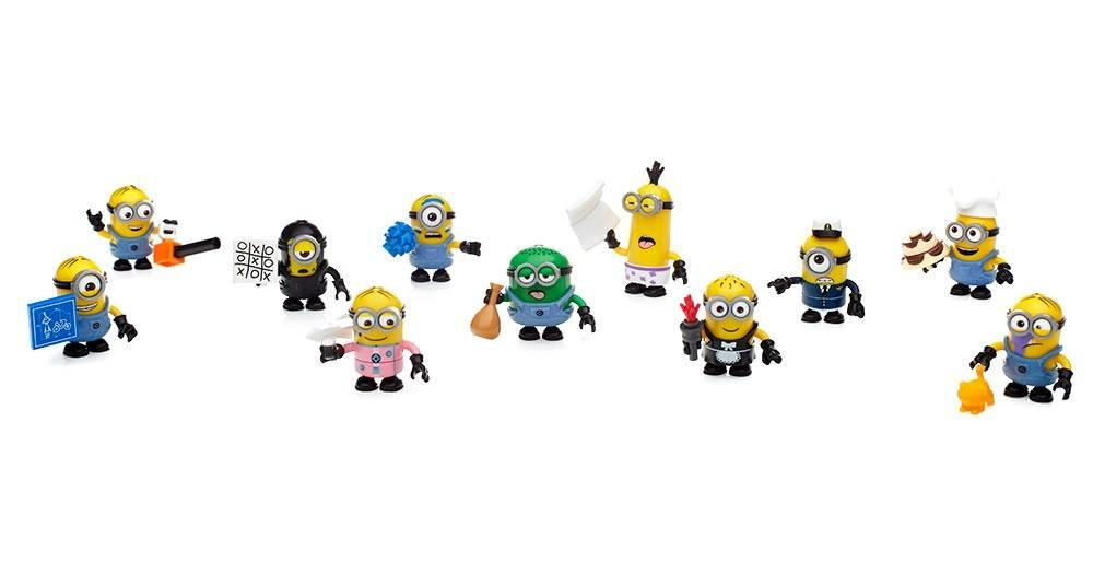 Mega Construx DM Minions Blind Bag Series 9 Micro Figure1