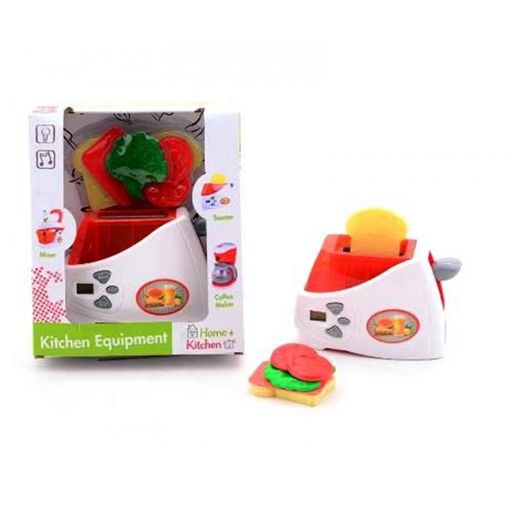 Home & Kitchen Electronic Toaster Playset