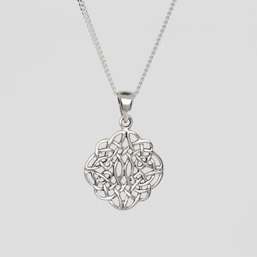 Celtic Knotwork Sterling Silver Pendant