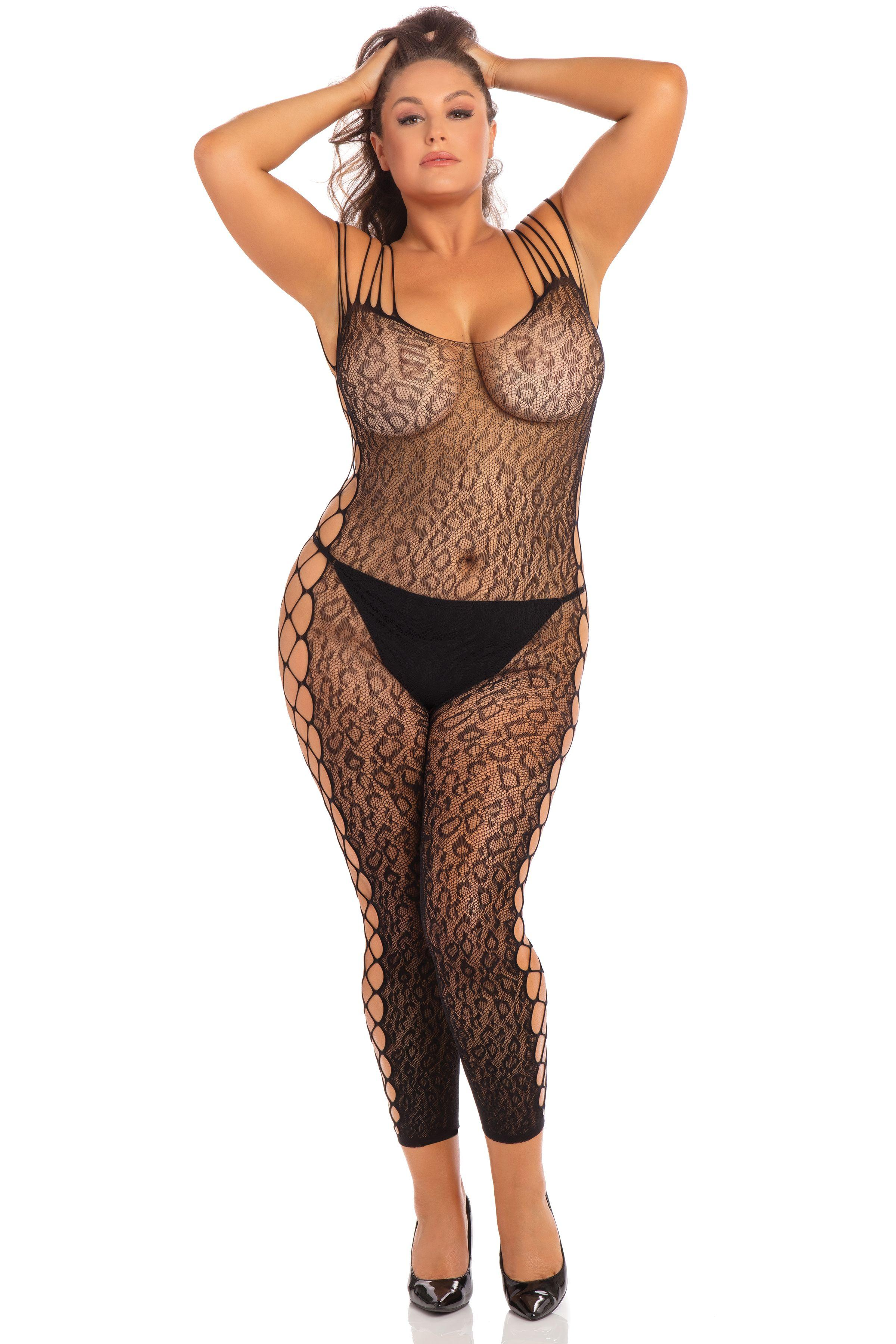 Animal Crotchless Bodystocking