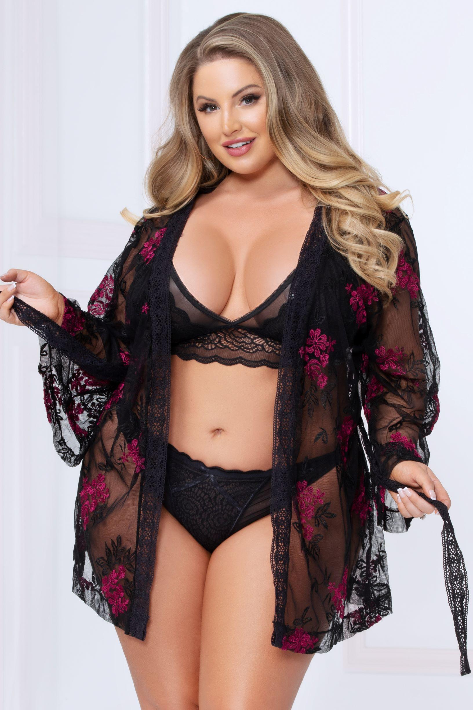 Florally Yours Robe
