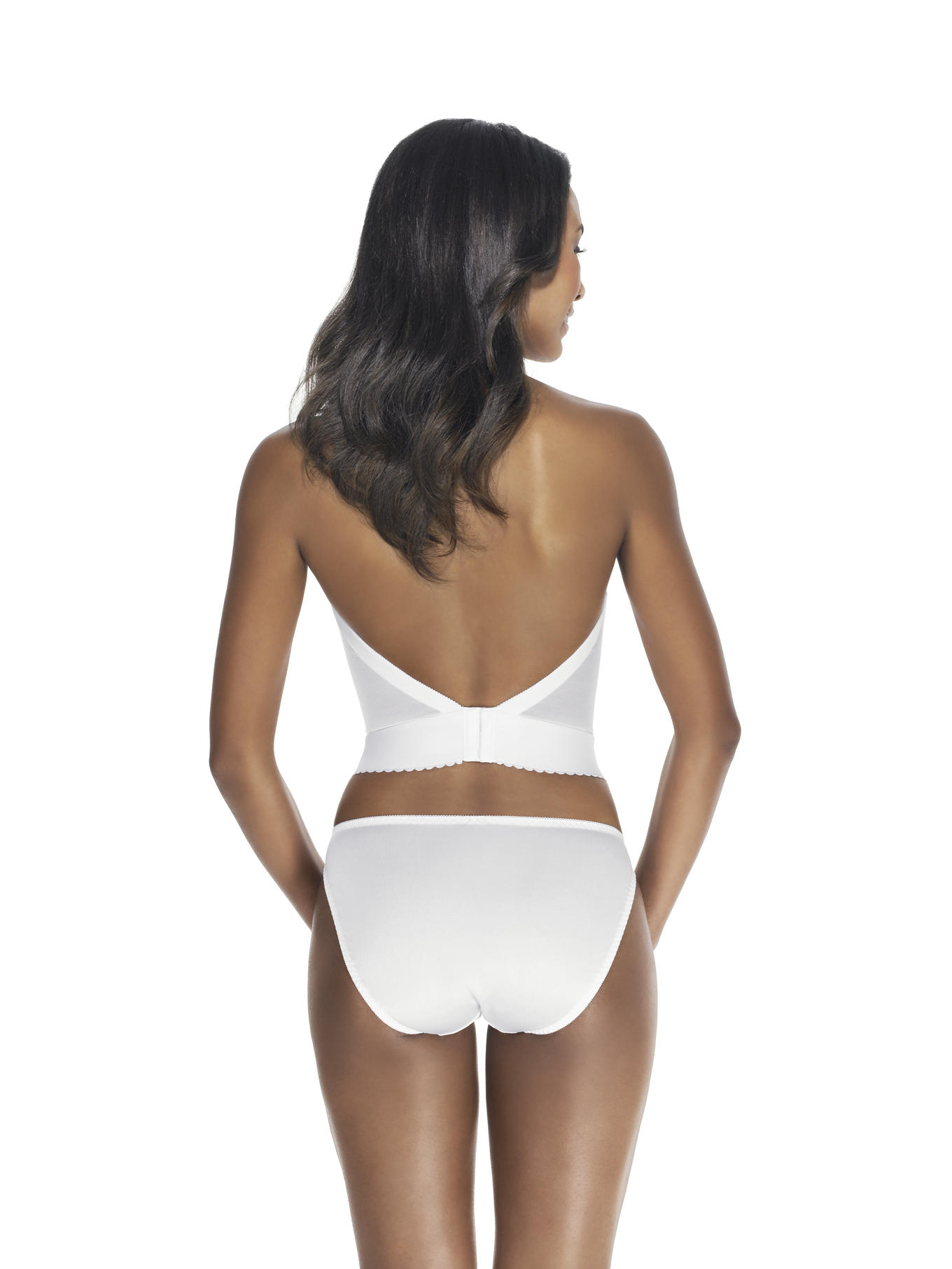Backless longline Bustier rear