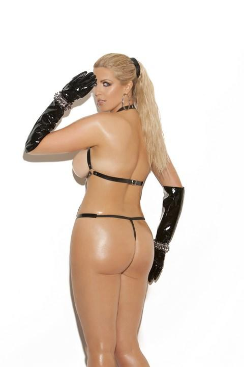 PVC Strappy Teddy