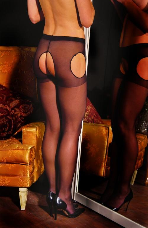 Queen Size Suspender Tights