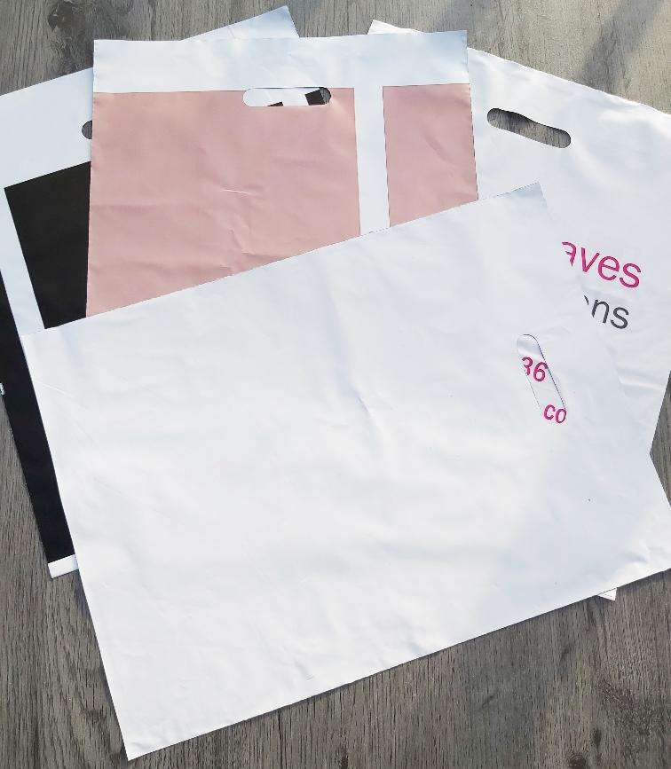 Misprinted misprint carrier bags