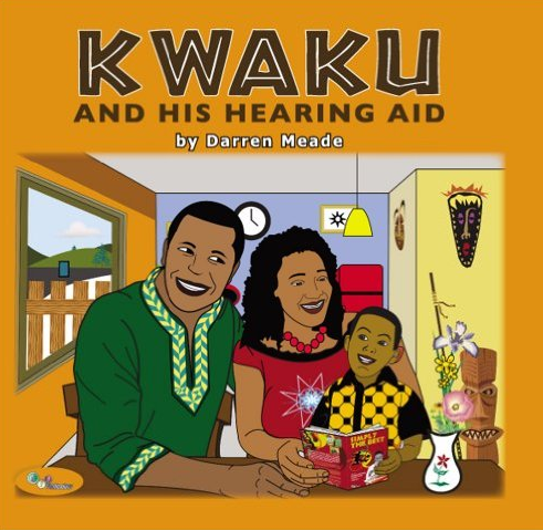kwaku and his hearing aid book