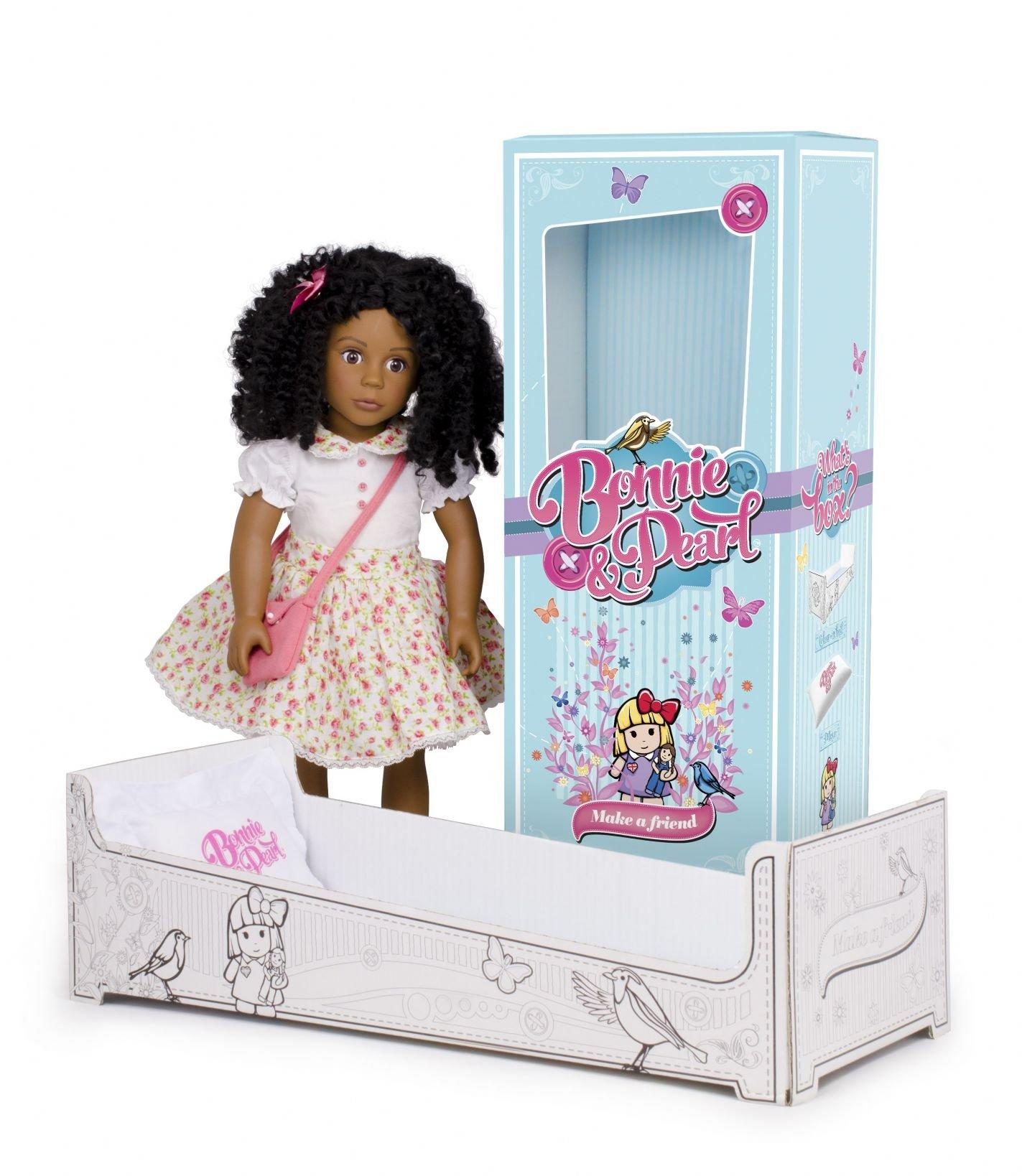 bonnie and pearl claudia black doll. Black Bedroom Furniture Sets. Home Design Ideas