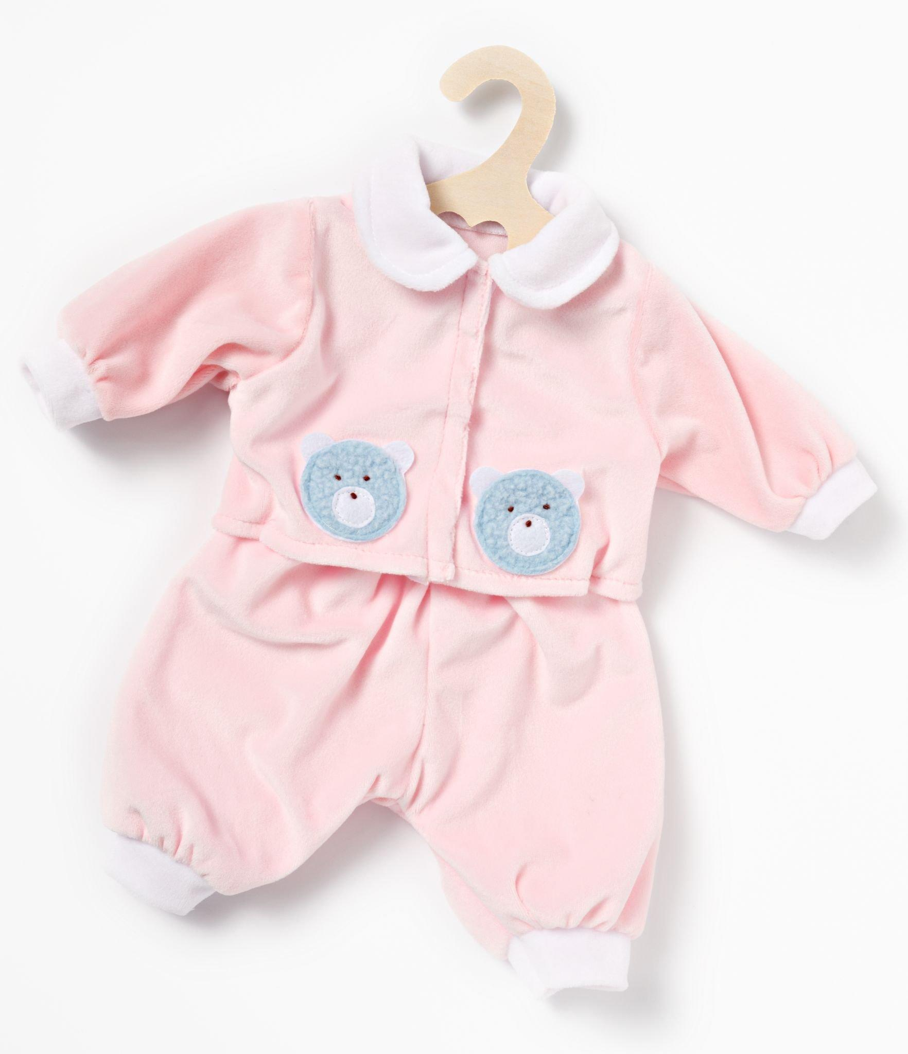 Dolls pink romper suit