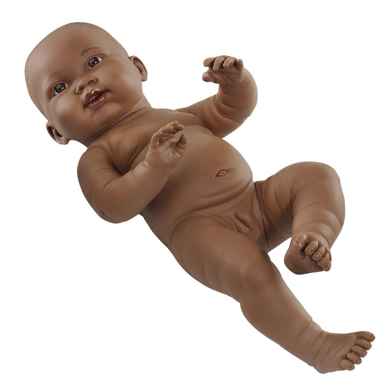 anatomically correct black boy doll