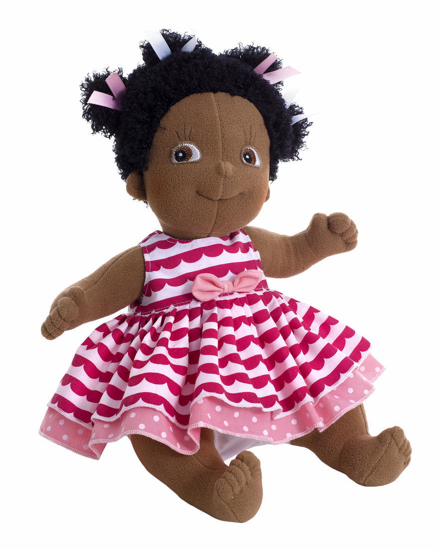 lollo soft black doll