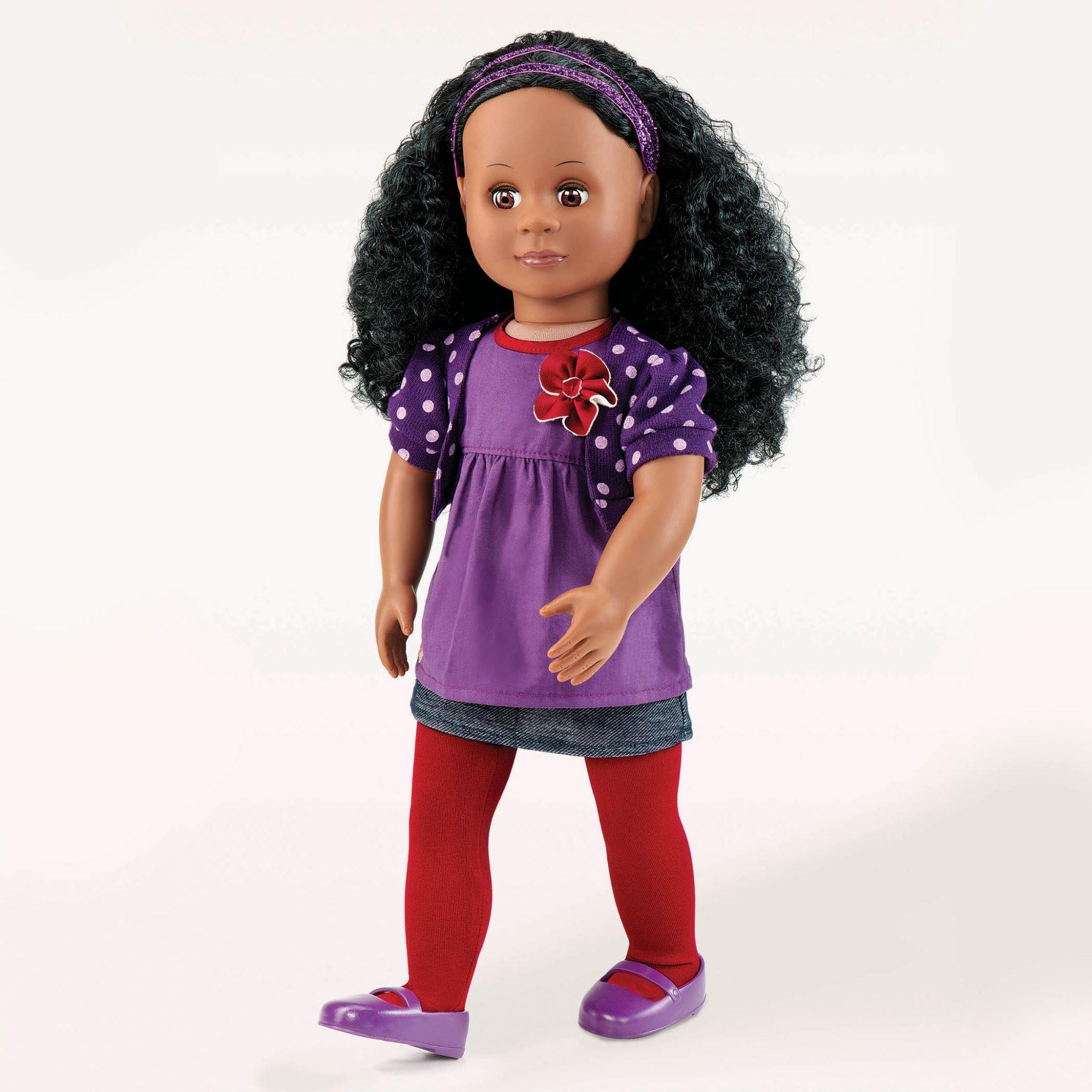 Abrianna our generation black doll