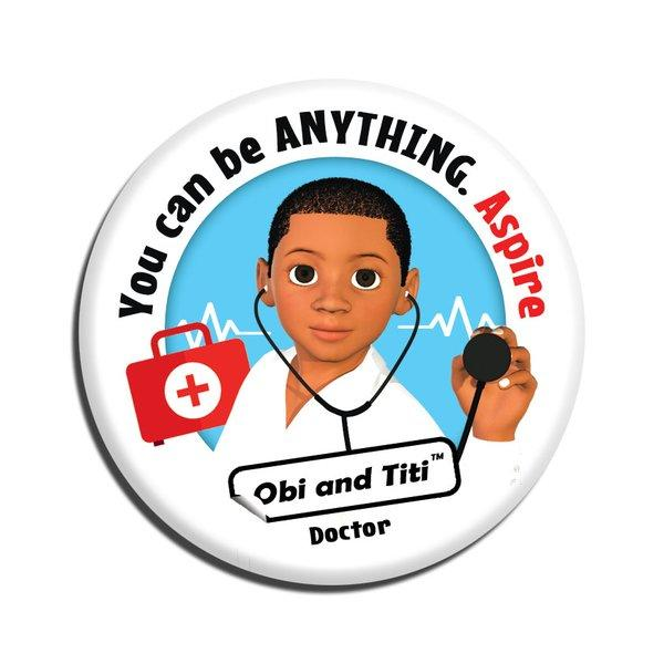 Black Boy Doctor badge