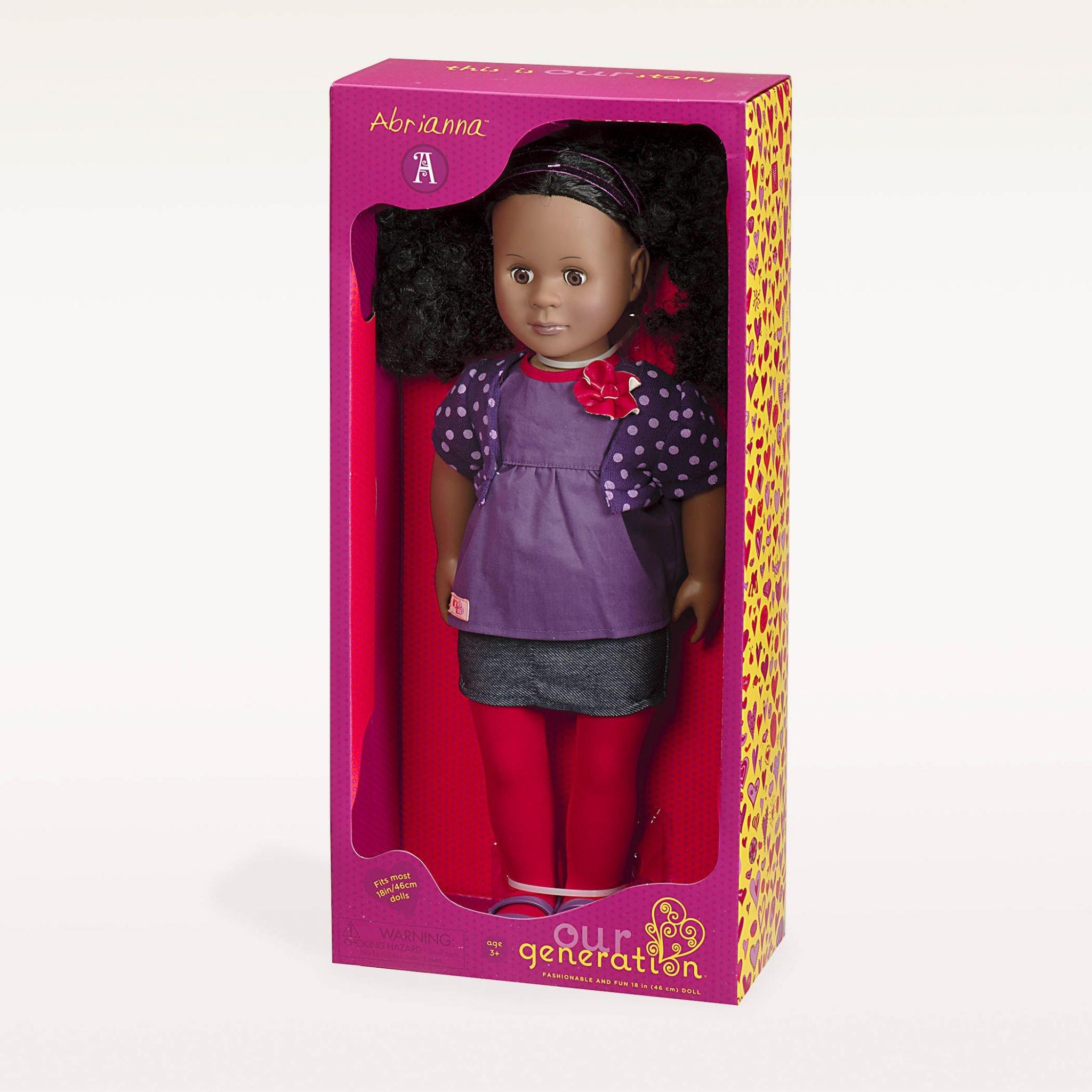 Abrianna our generation ethnic doll in a box