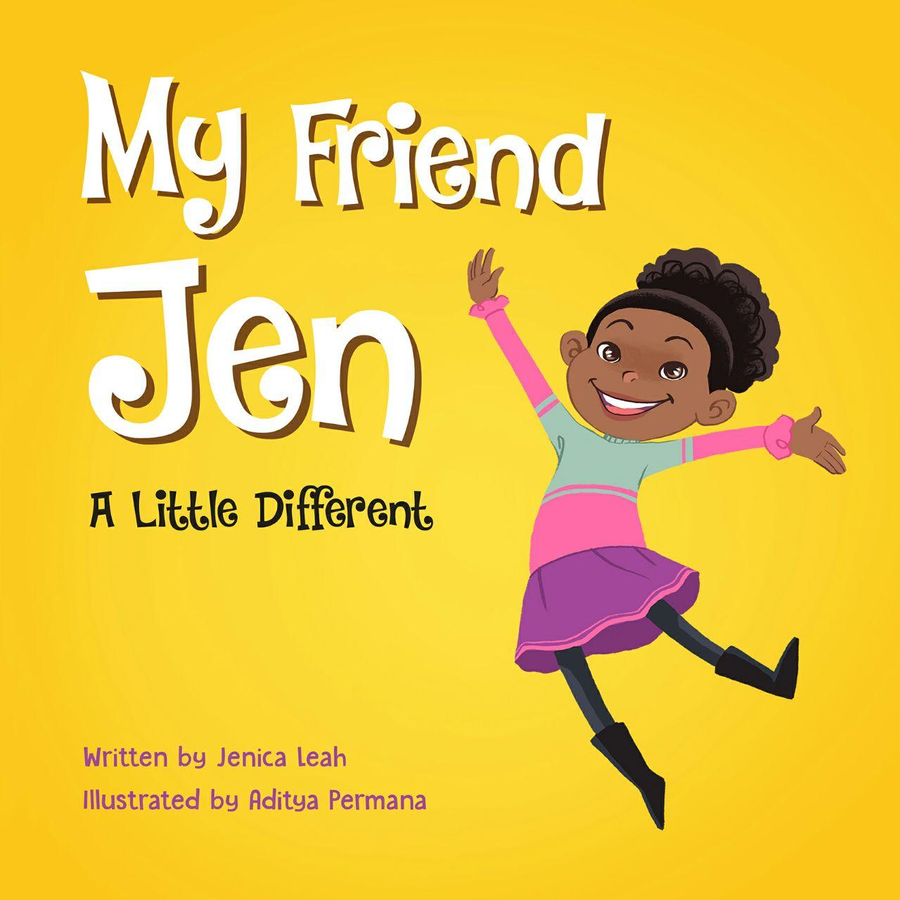 My friend jen yellow book cover