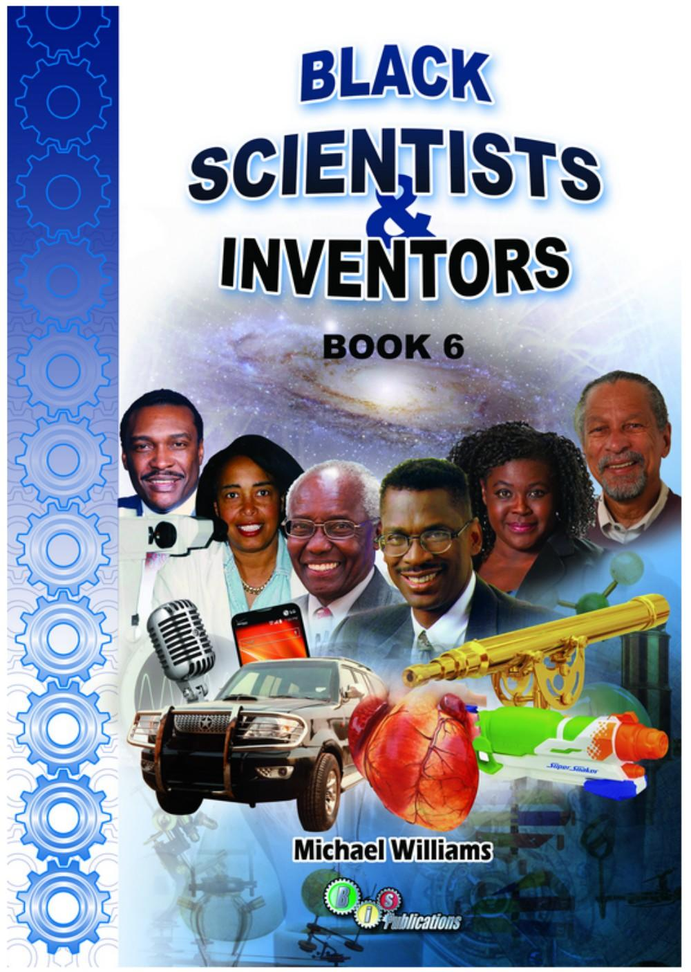 scientists book with blue front