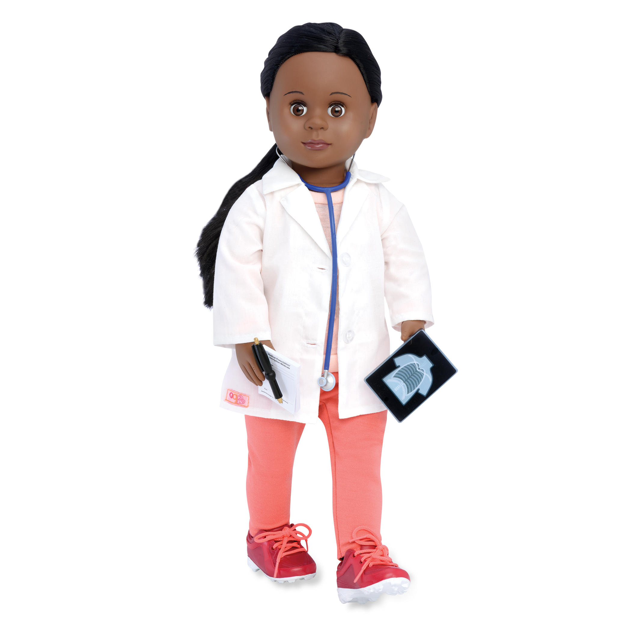 black doctor doll