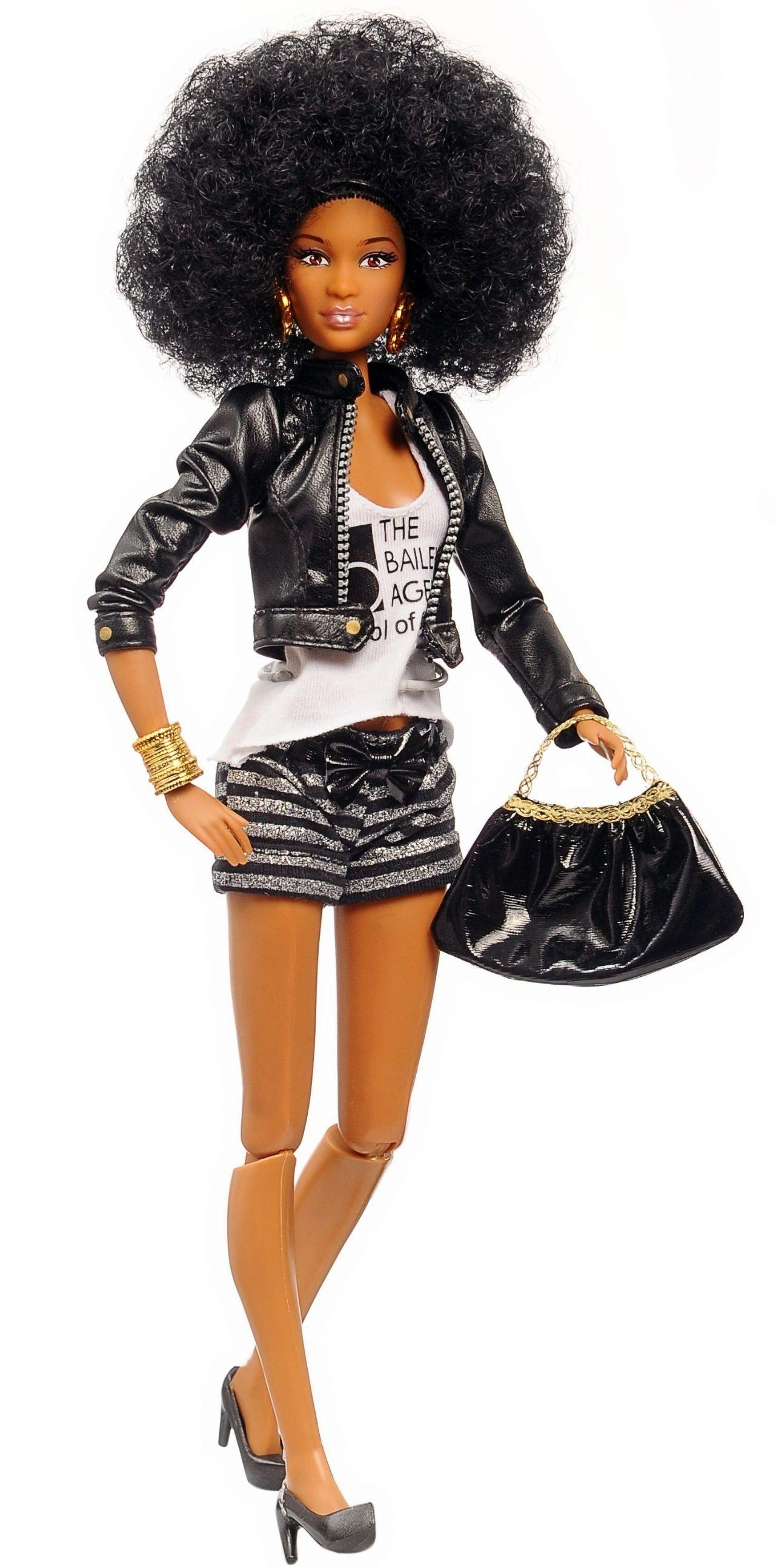 Cynthia bailey doll with afro hair
