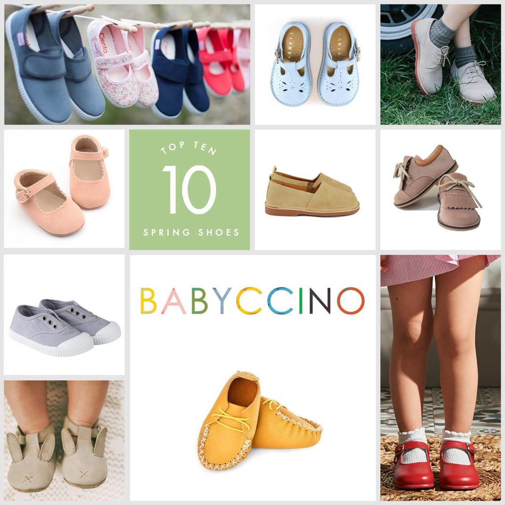 Babyccino Kids announces Top Ten Spring Shoes & A Spring Summer London Shop Up