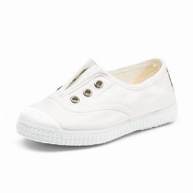 white,blanco, laceless, cienta