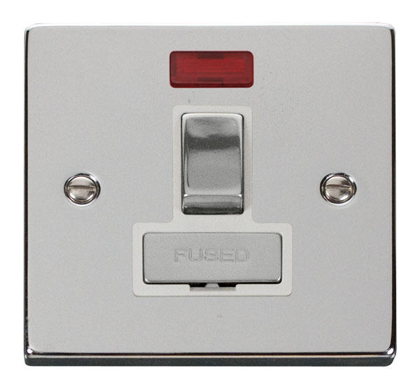 Victorian Polished Chrome Switches and Sockets - Click Deco