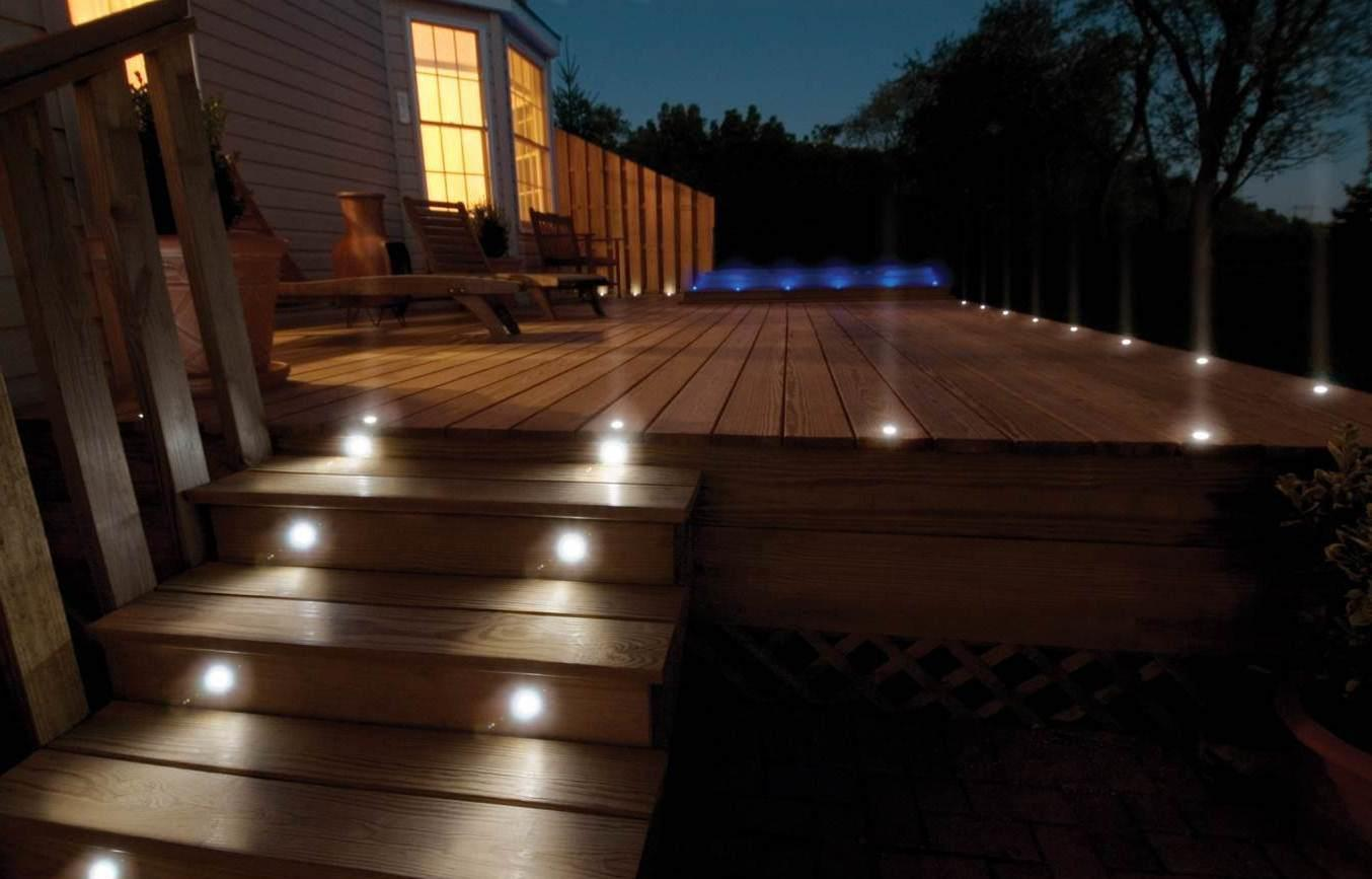 Kitchen Plinth and Deck Lighting.