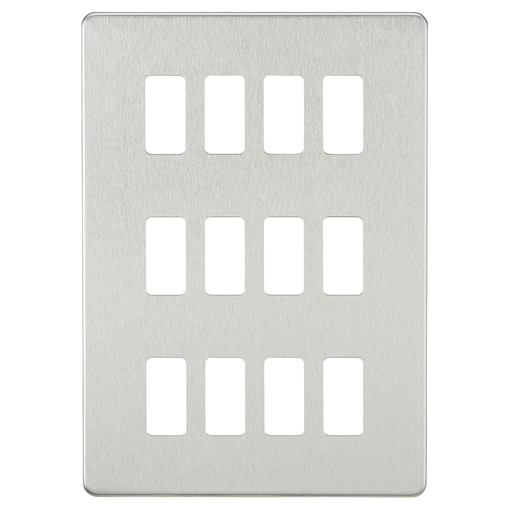 ML Screwless Flat Plate Grid Face Plates and Modules