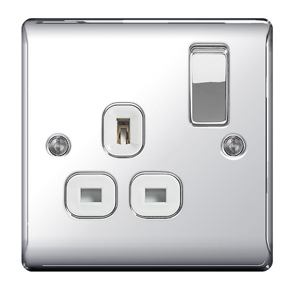 BG Nexus Metal Polished Chrome Switches and Sockets