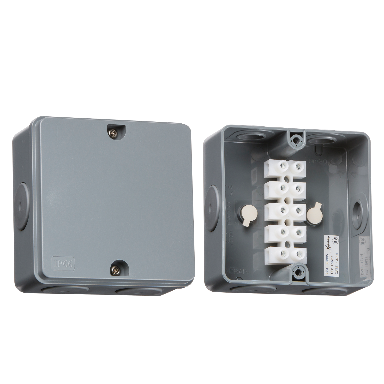 Install Porch Light Junction Box: Knightsbridge Weatherproof Accessories