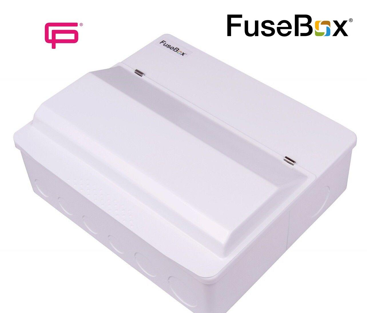 F110pr Fusebox 100a Mains 10 Way Rcbo Populated Metal Consumer Unit Fuse Box Codef110pr