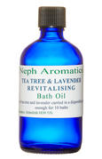 tea tree and lavender bath oil
