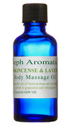 frankincense and lavender massage oil