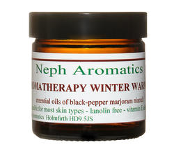 winter warmer skin cream