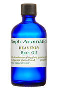 heavenly bath oil