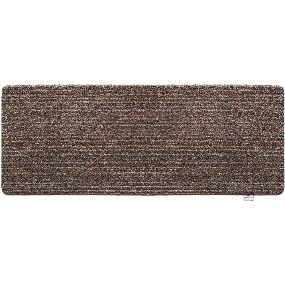 Plain Candy Stripe Brown Runner