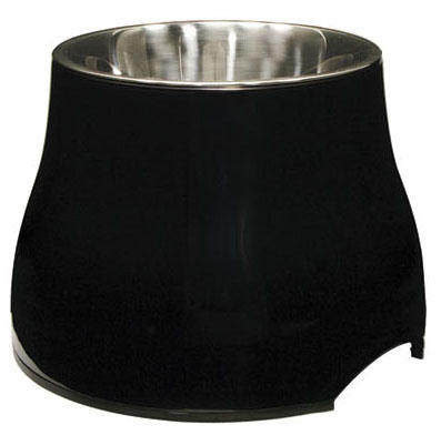 Dogit Elevated Dog Bowl - Black