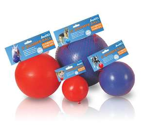 Company Of Animals Boomer Ball Dog Toy Sizes