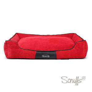 Scruffs Milan Orthopaedic Bed For Dogs  Cherry Red X Large