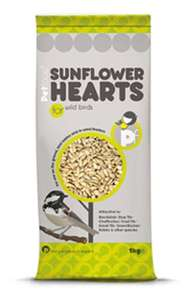 Petface Sunflower Hearts For Wild Birds