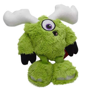 Hear Doggy! Dog Toys Silent Squeaky Soft Toy - Mo Monster