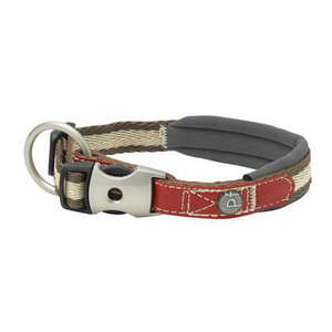Petface Signature Country Padded Dog Collars Red
