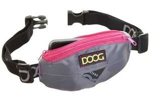 DOOG Mini Belt - New & Improved - Grey/Pink