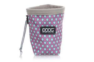 DOOG Good Dog Treat Pouch Small Pink/Blue