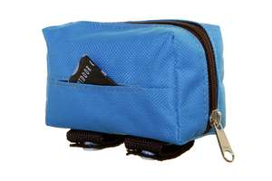 DOOG Walkie Pouch - Aqua/Brown