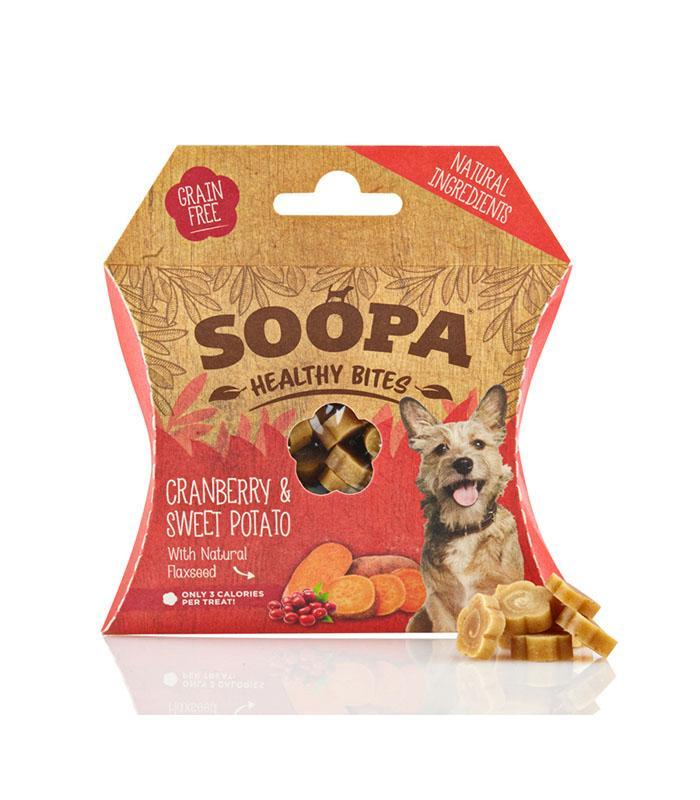 Soopa Healthy Bites - Cranberry and Sweet Potato