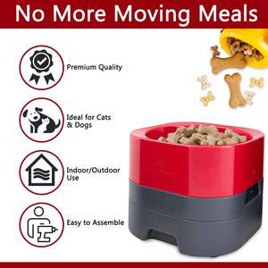 PetWeighter Elevated Weighted Dog Bowl Features